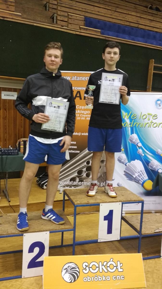 Ogólnopolski Turniej Badmintona Open Częstochowa 1 IV 2017